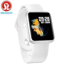 スマート時計バンド防水スマートウォッチダイナミック心拍数血圧モニターのためのappleのiphoneのandroidスポーツ健康腕時計iwo