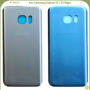 Image 5 - 10 PCS OEM S7 Battery Cover For Samsung Galaxy S7 G930F / S7 Edge G935F Back Cover Door Rear Cover Glass Housing Case