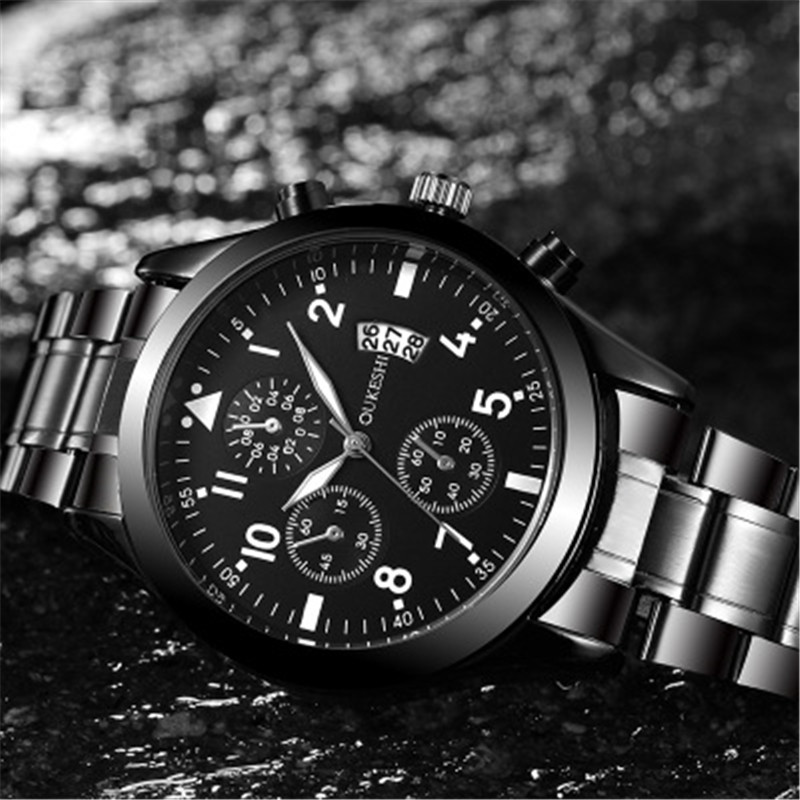 2019 Men's Watch Waterproof Top Brand Luxury Date Clock Male Sports Watches Men Quartz Casual Wrist Watch Relogio Masculino