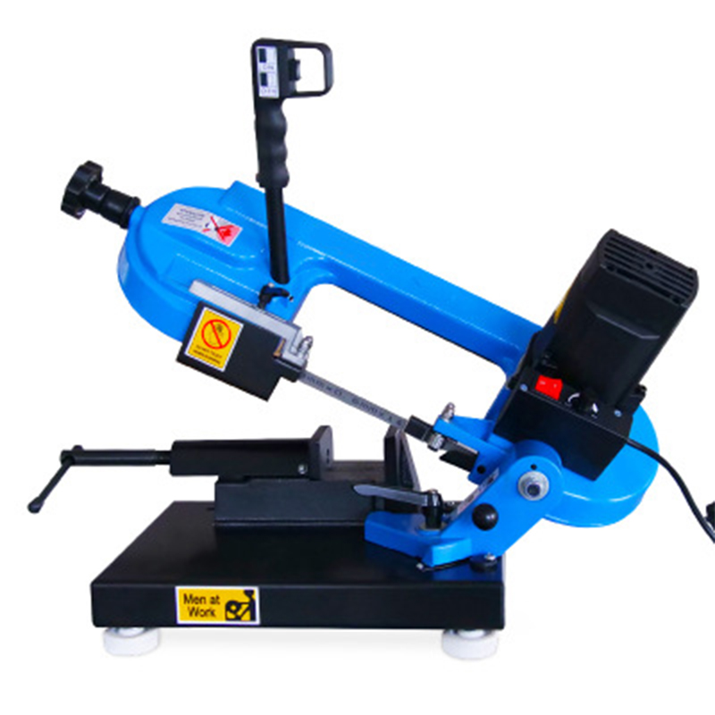 Small Portable Band Sawing Machine Woodworking Tools Metal Multifunction Sawing Machine Cutting Machine Horizontal mechanical