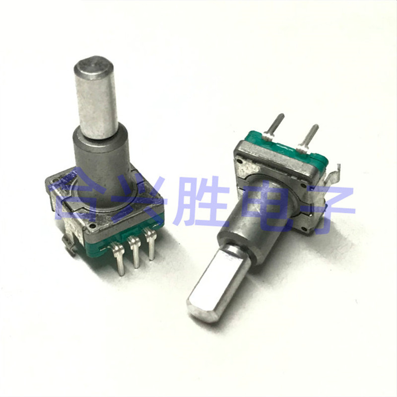 Encoder EC1110120201 Left And Right Rotary Reset Switch With Push Switch Shaft Length 20MM
