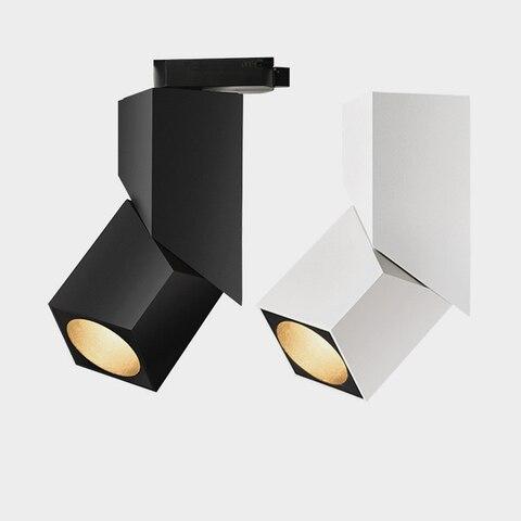 luminaria led dobravel regulavel rotacao 360 15w 20w cob luzes de teto 85 265v led