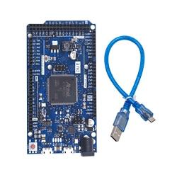 Новая плата DUE R3 SAM3X8E, 32-битная рукоятка Cortex-M3 / Mega2560 R3 Duemilanove 2013 для Arduino Due Board с кабелем