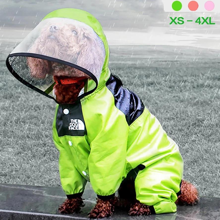 водонепроницаемый комбинезон с капюшоном для собаки