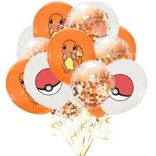 Pokemon pikachu tema balão dos desenhos animados anime personagem festa de decoração suprimentos festa de aniversário balões
