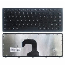 Клавиатура для ноутбука Lenovo Ideapad S300 S400 S405 S400T S400u, черная клавиатура для ноутбука США, для Lenovo Ideapad S300 S400 S405 S400T S400u