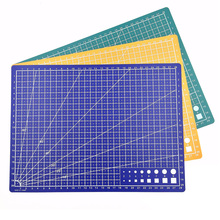 1 шт. 30*22 см A4 коврик для резки сетки линии самовосhealing вающийся коврик для резки высокое качество ремесло карты Ткань Кожа бумага доска синий зеленый
