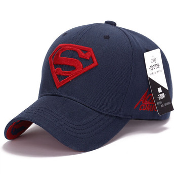 New Fashion Gorras Superman Hat Casquette Superman Baseball Cap Men Brand Women Bone Diamond Snapback Cap For Adult Trucker Hat 6