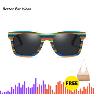 Skateboard Glasses Square Polarized Women BFW005 New-Product