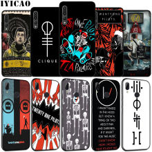 IYICAO Ventuno 21 Piloti Citazione Music Band Custodia In Silicone Morbida per Huawei P30 P20 Pro P10 P9 Lite Mini 2017 2016 P Smart Z 2019(China)