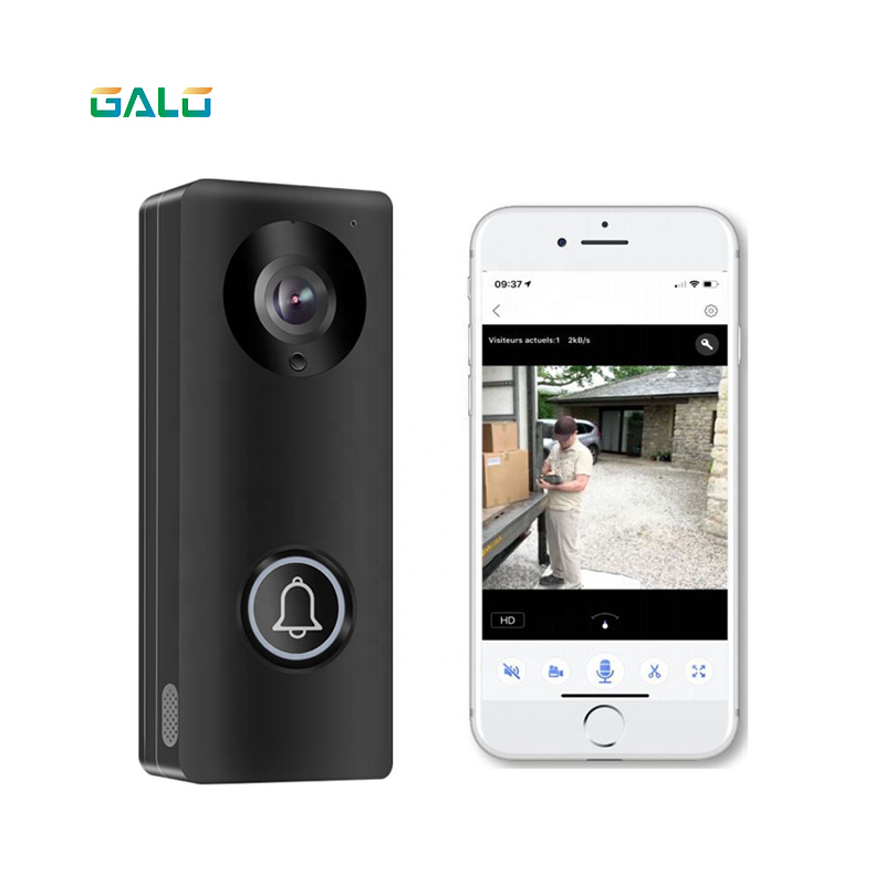 1080P HD POE Motion Detection Video Doorbell KW05 Smart WIFI Video Door Bell MINI Type Indoor