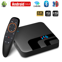 TV Box Android 10 2.4G&5.8G Wifi H616 3D Video 4GB 32GB 64GB Bluetooth Media Player 6K smart TV Box Android