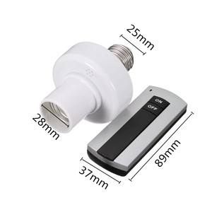 Image 5 - E27 Socket Cap RC Wireless Remote Control Light Lamp Bulb Holder Switch Home