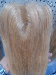 Base Closure Hair-Smooth Blonde Lace 100%Human-Hair-Products Silk Straight 613 5-5-18inch-Color