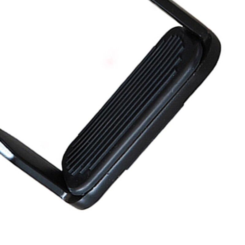 Стремена 2 шт. для верховой езды, стремена для верховой езды из алюминиевого сплава, гибкое алюминиевое седло для лошади, противоскользящая педаль для верховой езды, оборудование для безопасности