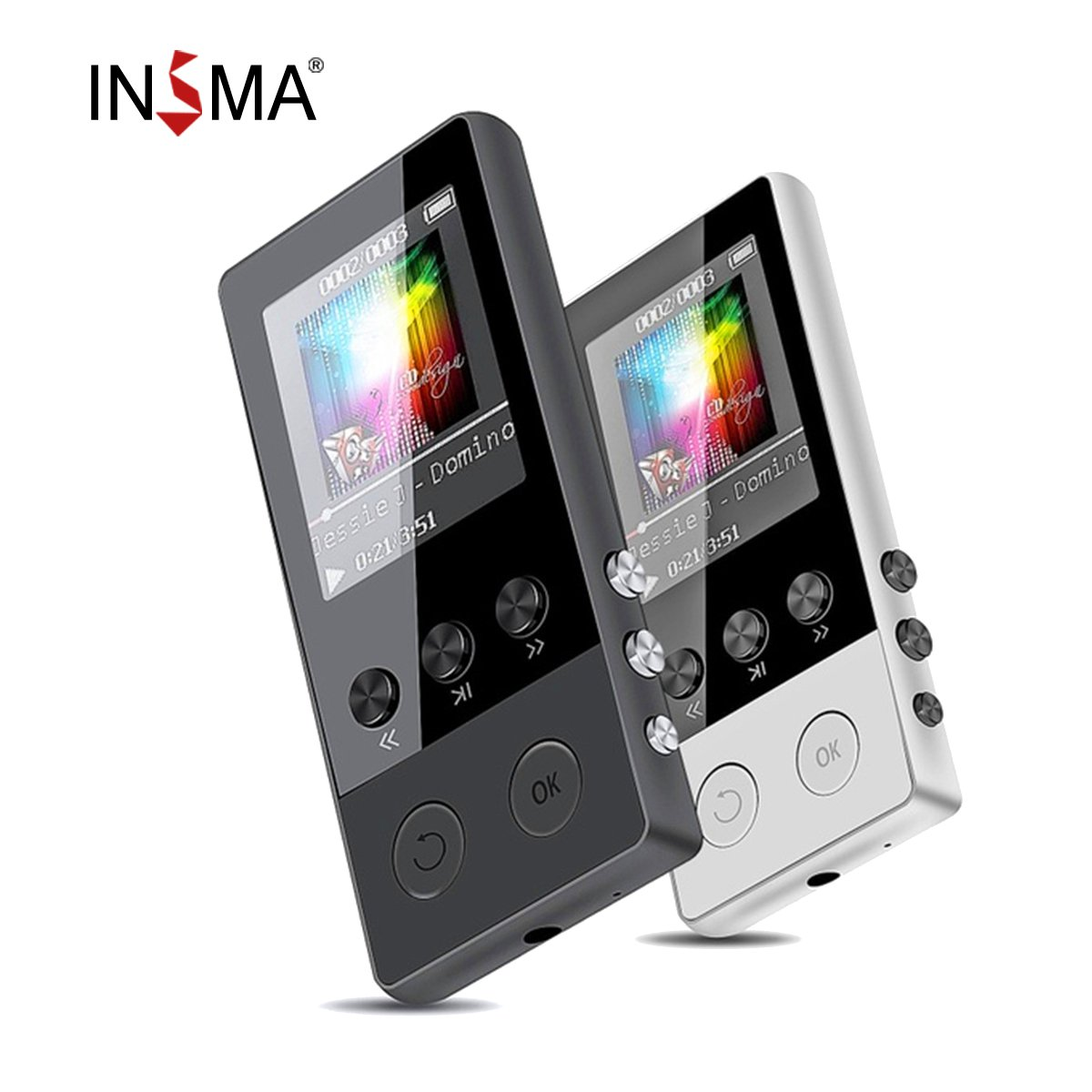 up to 128GB bluetooth MP3 Player Earphones HiFi fm Radio Sport MP 4 HiFi Portable Music Players Voice Recording Recorder TF Card