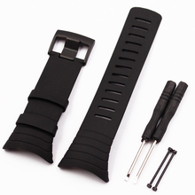 New watch strap silicone + buckle fasteners SUUNTO CORE replace the electronic men wristband