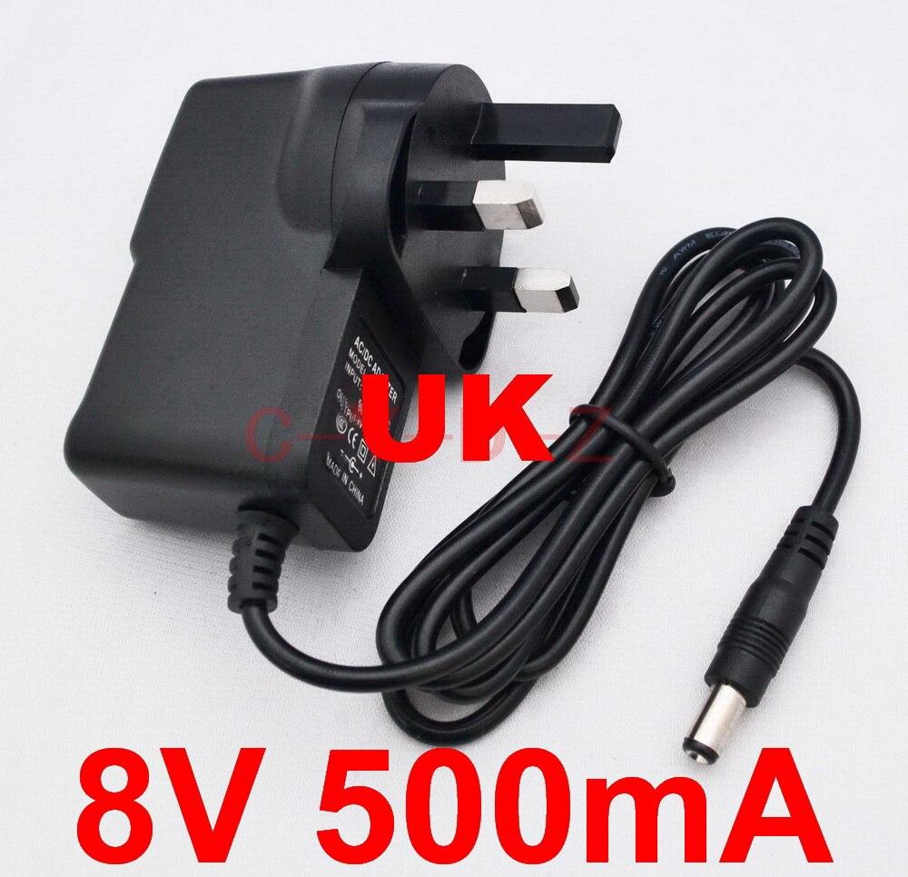 1 шт., переменный ток 100-240 В, 8 в, 5,5 мА, 2,1 а