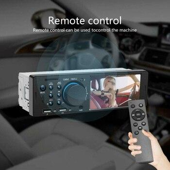 """Coche 4  """"HD Dual USB reproductor MP5 sonido estéreo Bluetooth manos libres U accesorio de disco nuevo y de alta calidad"""