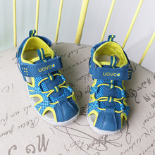 Kids Boy Fashion Sandals Soft  UOVO Shoes Boys Summer Beach Non-Slip Sports Girls