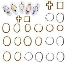 1000 шт/лот ngold круглые заклепки металлические наклейки для