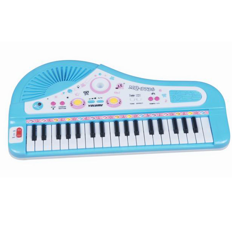 Cartoon Children Multi-functional Electronic Keyboard Small Children'S Educational Vocal Music Toy Xue Xi Qin Music ENLIGHTEN To