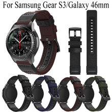 Ремешок холщовый для samsung gear s3/galaxy 46 мм классический