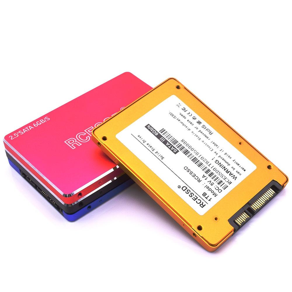 RCESSD Metal Disk Disc Hard-Drive Solid State Disks Internal 1tb SSD 128GB 256GB 512GB 240GB 480GB Metal SSD