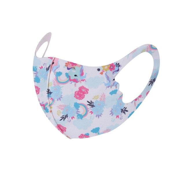 1Pcs Children Kids Girls Washable Adjustable Cartoon Mask Cover Outdoor Desechables veilScarf Flag Bandana Drop-shipping#3 4