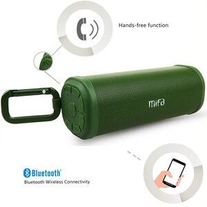 Image 2 - MIFA F5 haut parleur stéréo sans fil Bluetooth portable Bluetooth 4.0 haut parleurs extérieurs DSP 3D surround son stéréo Micro carte USB