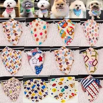 100pcs/lot wholesale 2019 New arrival Mix 60 Colors Dog Puppy Pet bandana Collar cotton bandanas Pet tie Grooming Products SP01 - DISCOUNT ITEM  15% OFF Home & Garden