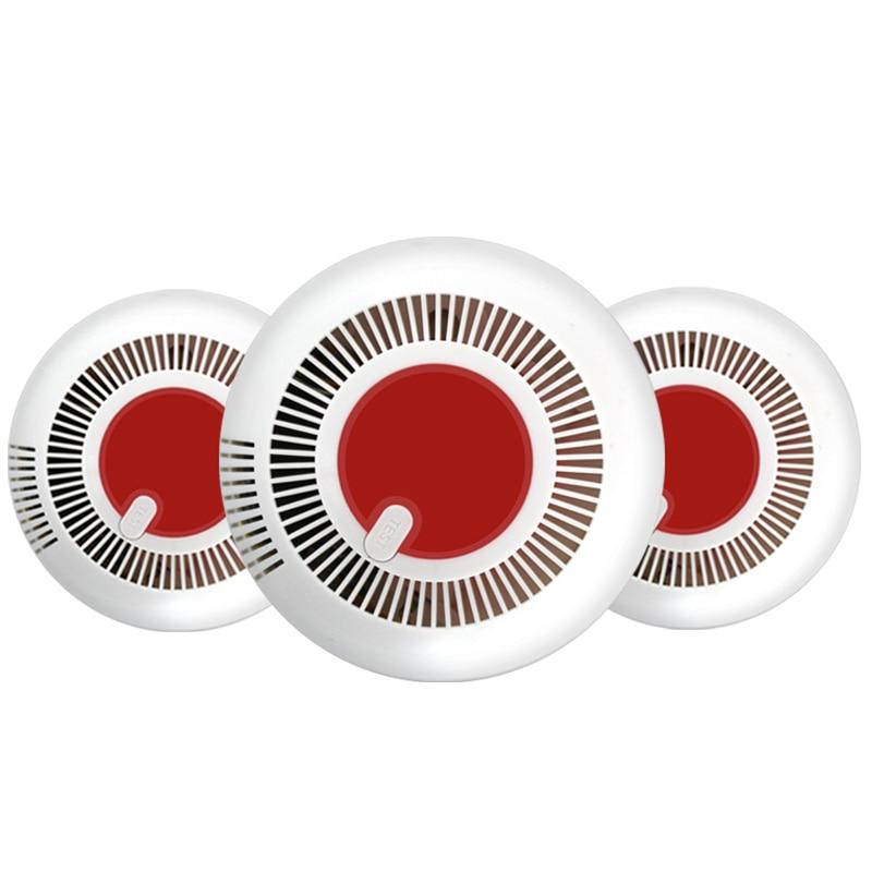 NEW Independent Smoke Detector Standalone Photoelectric Smoke Alarm High Sensitive  Alarm System Fire Protection Sensor