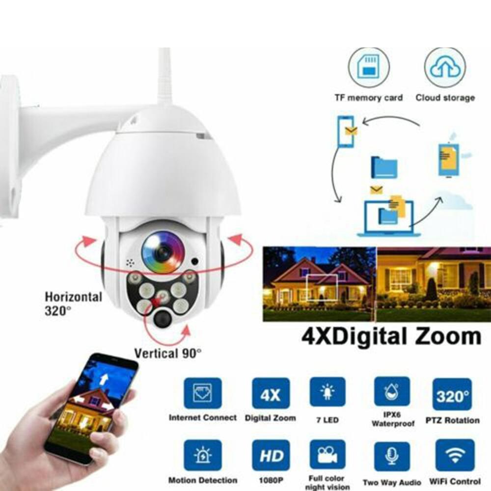 360 Graus Bola Ao Ar Livre Sem Fio À Prova D' Água Câmera de Rede Wi-fi Hd Câmera de Vigilância de Segurança
