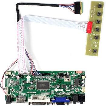 Lwfczhao-Kit de Monitor para B089AW01 V1 HDMI + DVI + VGA LCD, placa controladora, controlador, panel lvds de 40 pines