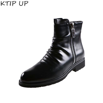 Spring Autumn New Men Boots For Martin Boots Male Shoes Adult Dr Motocycle Boots Warm Ankle Boots Winter Shoes Men Shoes