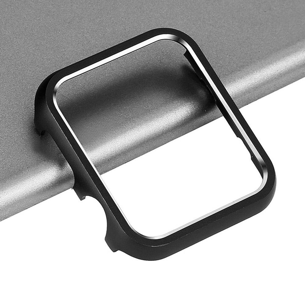 Металлический бампер для Apple Watch SE 40 мм 44 мм 38 мм 42 мм, чехол, жесткий защитный чехол для iWatch серии 6 5 4 3 2, алюминиевая рамка