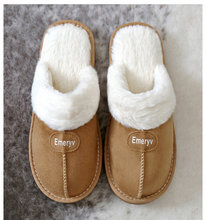 Women House Slippers Plush Winter Warm Shoes Woman Comfort Coral Fleece Memory Foam for Indoor Outdoor Use
