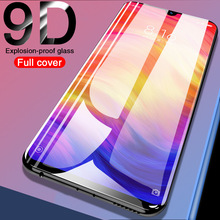9D Protective Glass on For Xiaomi Redmi Note 8 7 6 5 Pro 4X 6A Tempered Glass For Xiaomi mi 9 8 Lite A2 Screen Protector Film