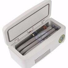 Kühlschrank Kühler Kühlschrank Wärmer Kühler Getränk Gefrierfach Kühltasche für Insulin Impfstoff Kalt Diabetes Outdoor Reise Medikament