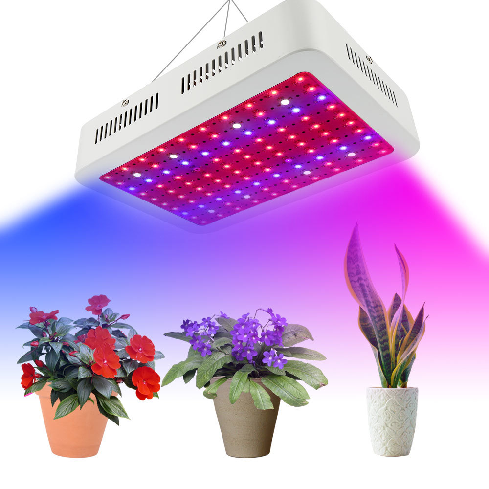 Professional Plant Lamp Double Chips Greenhouse Plants Growth Uv Ir Led Grow Light 1000w - 5