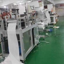 fully automatic Face Mask Making Machine N95 FFP2 respirator(China)