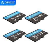 ORICO Mini Speicher Micro TF/SD Karte 256GB 128GB 64GB 32GB MicroSD Max 80 Mt/s class10 mini TF karte mit SD-Adapter