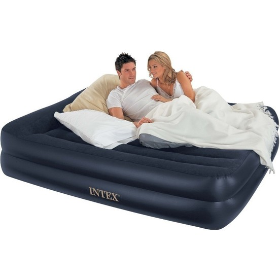 Obedient Vardem Intex 64124 Electric Inflatable Bed Dura-152x203x42 Cm