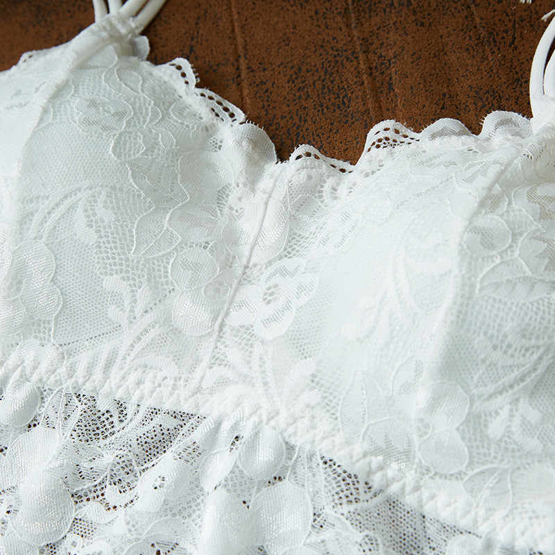 Feminino cinta de renda envolto peito camisa sexy cueca selvagem sutiãs 2019 moda feminina bralette sutiã feminino topos ^ 40