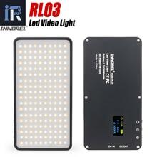 INNOREL RL03 HA CONDOTTO il Mini Portatile ultra sottile photography luci Esterne di viaggio mobile della batteria 4500 mAh in diretta video luce di riempimento
