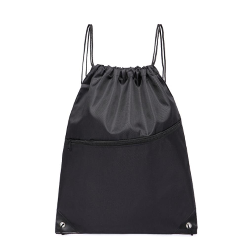 Adeeing Outdoor Sports Polyester Drawstring Backpack Bag