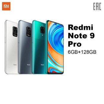 Перейти на Алиэкспресс и купить Смартфон Xiomi Redmi Note 9 Pro 6Гб|128Гб|Snapdragon 720G|NFC|64Мп камера|Быстрая зарядка|Ростест, Гарантия, Быстрая доставка