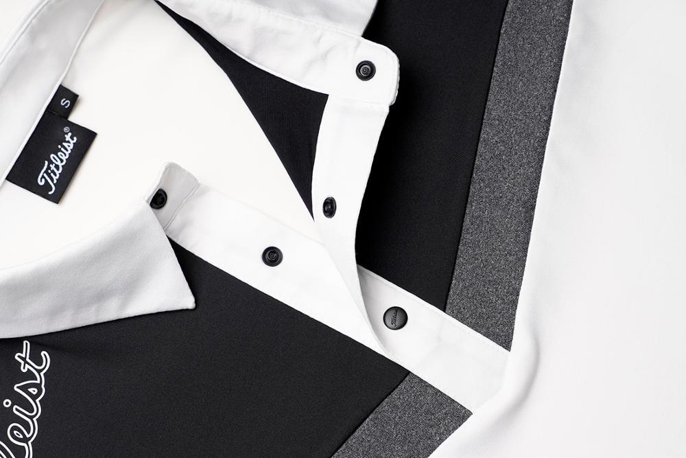 2020 otoño nueva ropa hombres golf Polo-shirt deportes golf manga larga - 6