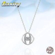 Роскошное новое ожерелье из стерлингового серебра 925 пробы