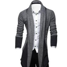 2021% C2% A0spring новинка молодежь мужчины% C2% A0свитер цвет корейский с длинными рукавами рубашка мужчины% 27s стройность длинный кардиган свитер пальто